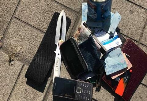Сотрудники полиции Каменского быстро отреагировали на правонарушение в центре города Днепродзержинск