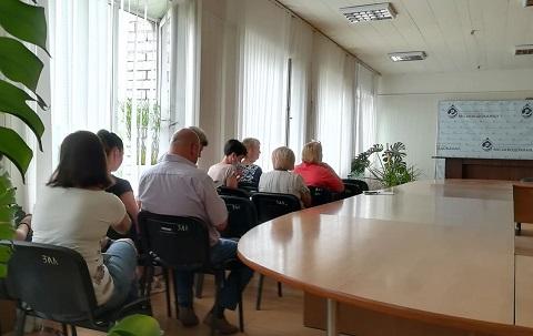 Сотрудникам КП «Каменской водоканал» рассказали о вакцинации от COVID-19 Днепродзержинск