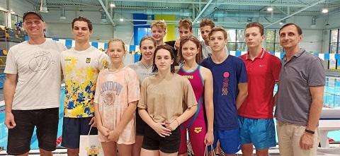Каменчане заняли 4 место на кубке Украины среди плавательных клубов Днепродзержинск