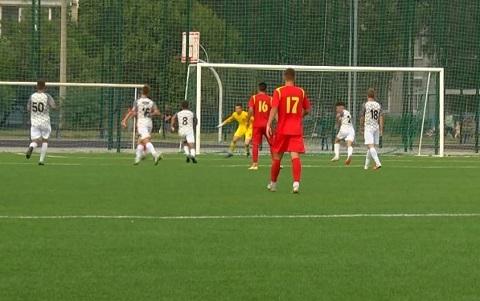В Каменском прошёл товарищеский матч по футболу Днепродзержинск
