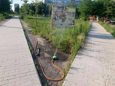 Даже в жару парк «Счастье» г. Каменское продолжает жить Днепродзержинск