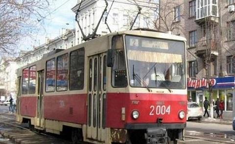 В центре г. Каменское восстановили движение автотранспорта Днепродзержинск