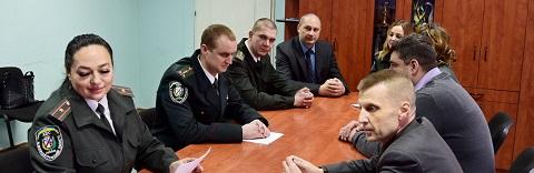 Лучшие работники «Центра пробации» г. Каменское получили награды Днепродзержинск