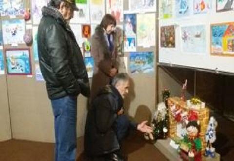 В г. Каменское подведены итоги общегородского конкурса «Новогоднее чудо» Днепродзержинск