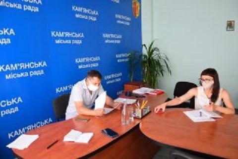 Секретарь горсовета г. Каменское провел брифинг  Днепродзержинск