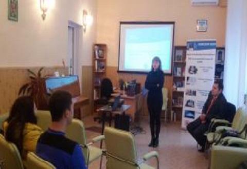 Молодые предприниматели Каменского прошли тренинг Днепродзержинск