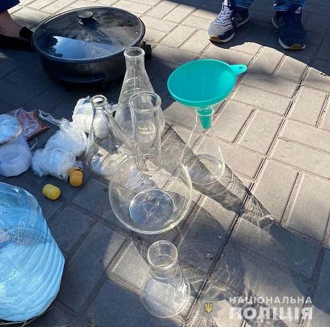 Правоохранители г. Каменское прекратили деятельность нарколаборатории  Днепродзержинск