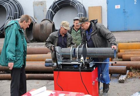 «Горводоканал» Каменского приобрел аппарат для стыковой сварки Днепродзержинск