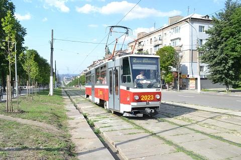 Трамвай № 2 в г. Каменское временно изменит маршрут движения Днепродзержинск
