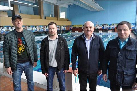 «МиКОМП» завершает реконструкцию бассейна в Каменском Днепродзержинск