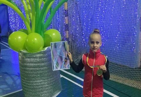 Турниры областного и всеукраинского уровня покорились гимнасткам Каменского Днепродзержинск