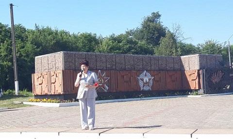 В Каменском почтили память жертв войны Днепродзержинск