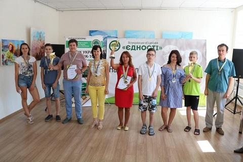 В Каменском подвели итоги Кубка Украины по шашкам Днепродзержинск