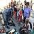 Люди героической профессии провели в парке Каменского встречу с жителями города