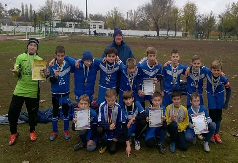 Выпускники футбольной Школы «Сталь» г. Каменское выиграли встречу 10 тура  Днепродзержинск