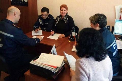 Ведущие специалисты ГСЧС г. Каменское отработали занятие с психологом Днепродзержинск