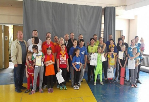 В г. Каменское провели финал соревнований «Папа, мама, я - спортивная семья!» Днепродзержинск