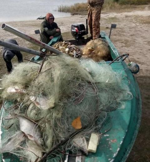 На Каменском водохранилище рыбоохранный патруль провёл рейд Днепродзержинск