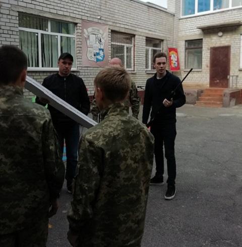 На левобережье г. Каменское провели мероприятие ко Дню Защитника и Защитниц Украины Днепродзержинск