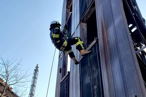 Спасатели г. Каменское повышали оперативное мастерство Днепродзержинск
