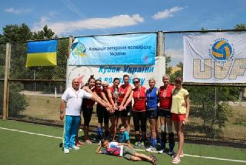Ветераны спорта Каменского стали чемпионами Украины Днепродзержинск
