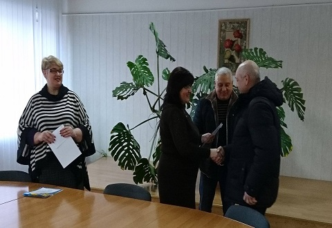 Сотрудников «Горводоканала» г. Каменское поздравили с Днем энергетика Днепродзержинск