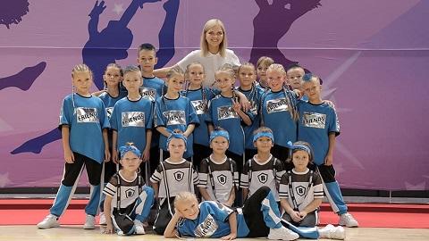 В городе Каменское провели Кубок по черлидингу Днепродзержинск