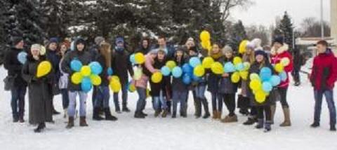 Каменская молодежь принимает активное участие в проведении общегородских мероприятий Днепродзержинск