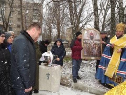 В г. Каменское провели церемонию открытия нового монумента Днепродзержинск