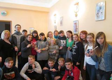 Школьников Каменского учили проявлять креативность в предпринимательской деятельности Днепродзержинск