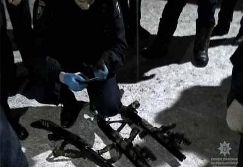 Полиция в Каменском провела специальную операцию по освобождению заложников Днепродзержинск