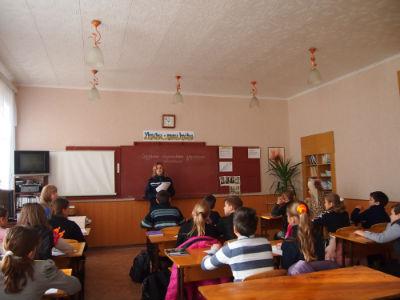 Учащихся СОШ№28 Днепродзержинска посетили спасатели 7-й ГПСЧ  Днепродзержинск