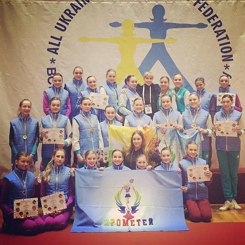 Черлидеры из Каменского стали чемпионами Украины Днепродзержинск