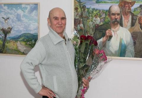 Каменчанин Анатолий Жежер провел юбилейный вечер в ЦГБ Днепродзержинск
