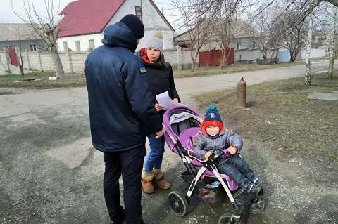 Каменские спасатели в частном секторе провели профилактическую работу Днепродзержинск