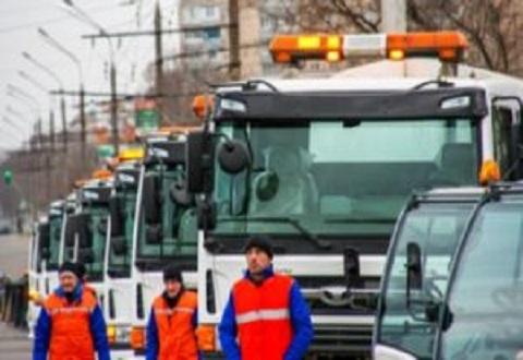 Ухудшение погодных условий на дорогах Каменского и области Днепродзержинск