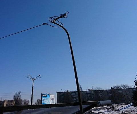 Остановка «Автовокзал» г. Каменское осталась без  кабеля питания Днепродзержинск