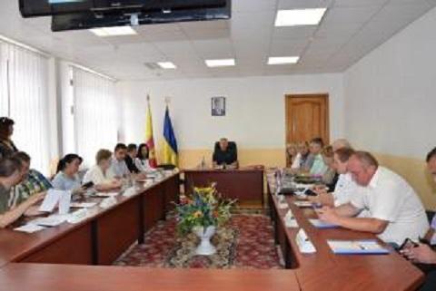 На заседании исполкома г. Каменское рассмотрели плановые вопросы Днепродзержинск