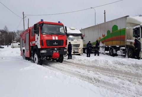 Служба спасения г. Каменское оказывает помощь водителям авто Днепродзержинск