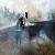 Под г. Каменское спасатели ликвидировали пожар на открытой территории