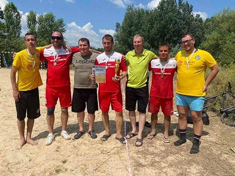 Кубок «Энергия молодости» собрал в Каменском любителей пляжного футбола Днепродзержинск