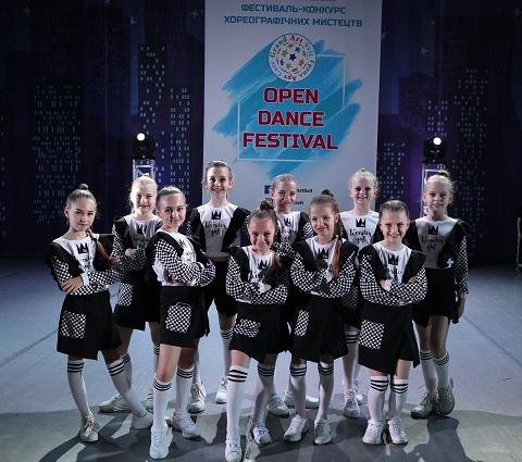 Каменские танцоры стали победителями фестиваля хореографических искусств Днепродзержинск