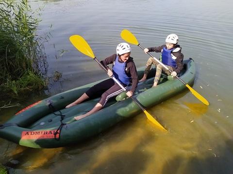 В г. Каменское провели соревнования по водному туризму Днепродзержинск