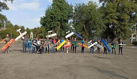 В г. Каменское соревновались авиамоделисты Днепродзержинск