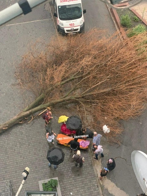 Каменчане после непогоды попали в больницы Днепра и Каменского  Днепродзержинск