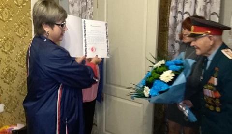 Ветеран из Каменского отметил 100-летний юбилей Днепродзержинск