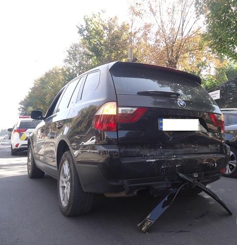 В Каменском на проспекте Шевченко произошла дорожная авария Днепродзержинск