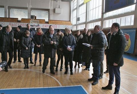 В Каменском презентовали проект реконструкции Дворца тенниса Днепродзержинск