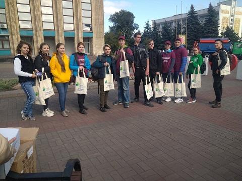 Каменчане стали участниками экологического квеста Днепродзержинск