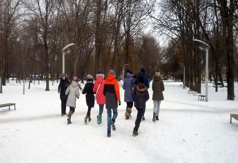 Патриотический квест провели для молодежи Каменского Днепродзержинск